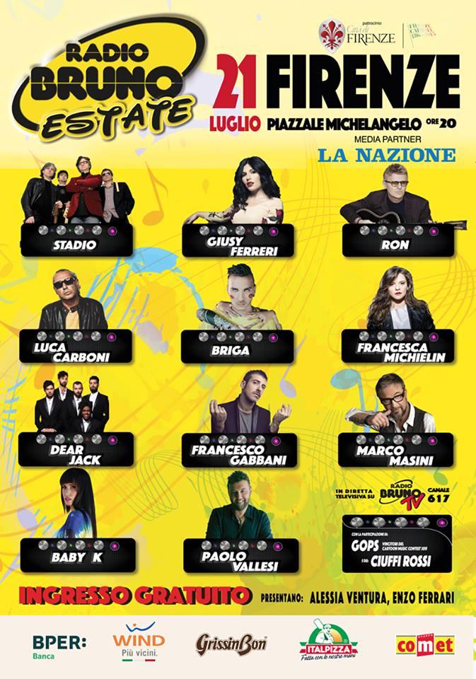 Cast Radio Bruno Estate Firenze
